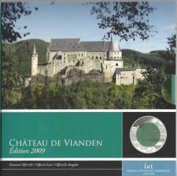 5 Euro Gedenkmünze Luxemburg 2009 Niob - Vianden