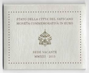 2 Euro Vatikan 2013 - Sede Vacante