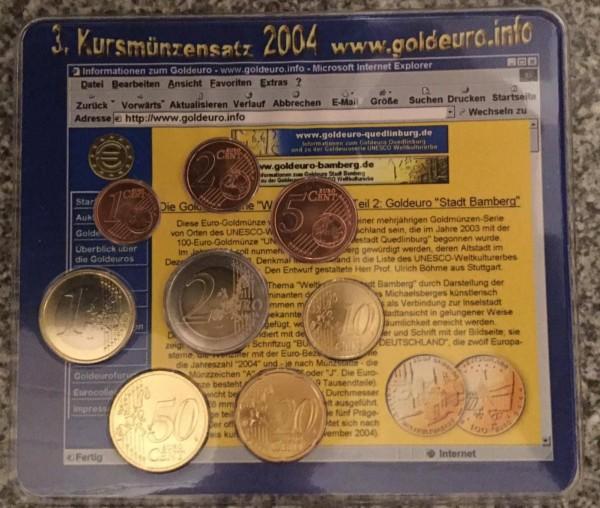 Goldeuro.info KMS Deutschland 2004 - BU- Weltkulturerbe Bamberg