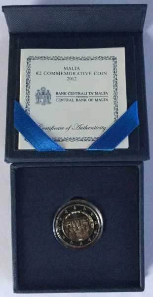 2 Euro Malta 2012 - Mehrheitswahlrecht - PP