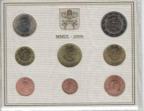 Euro KMS 2009 Vatikan - BU