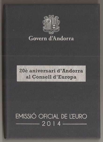 2 Euro Andorra 2014 Europarat - PP