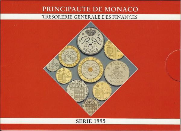 Vor Euro KMS Monaco 1995 Francs BU