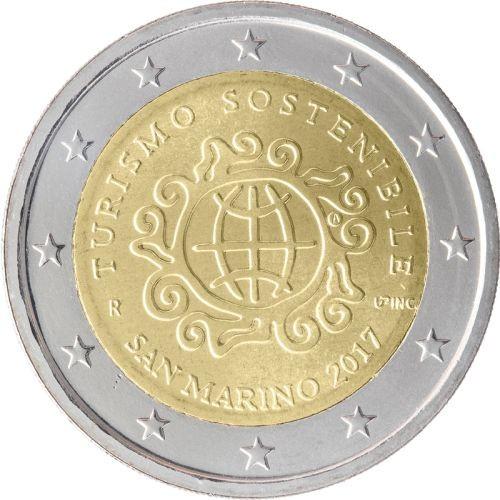 2 Euro San Marino 2017 - Internationales Jahr des nachhaltigen Tourismus