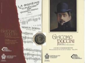2 Euro San Marino 2014 - Giacomo Puccini