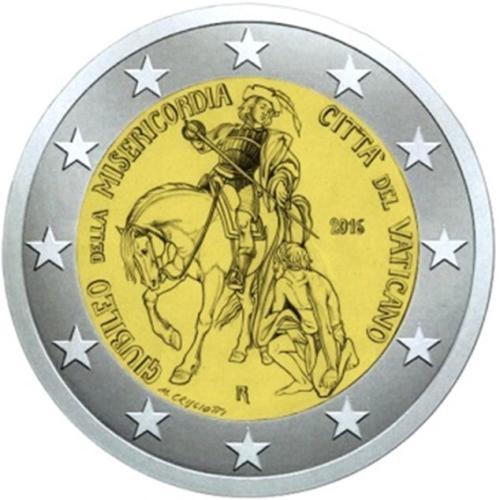2 Euro Vatikan 2016 - Heiliges Jahr der Barmherzigkeit - BU