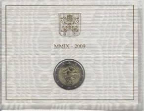 2 Euro Vatikan 2009 - Astronomiejahr