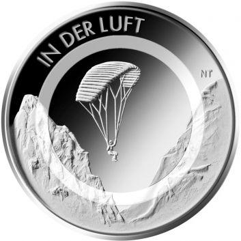 10 Euro Deutschland 2019 - In der Luft - Stempelglanz - Prägestätte unserer Wahl