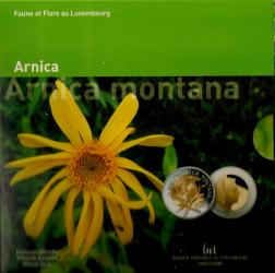 5 Euro Gedenkmünze Luxemburg 2010 - Arnika