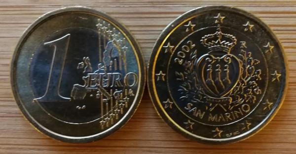 1 Euro San Marino 2002 UNC