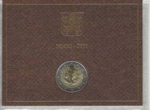 2 Euro Vatikan 2011 - Weltjugendtag Madrid