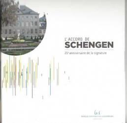 10 Euro Gedenkmünze Luxemburg 2010 - 25 Jahre Schengener Abkommen - TItan